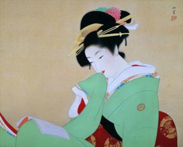 近代美人画の大家、西の上村松園、東の鏑木清方とは?