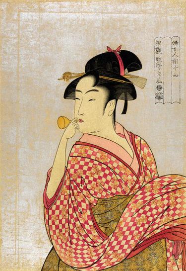 浮世絵美人画の最高峰、喜多川歌麿とは?